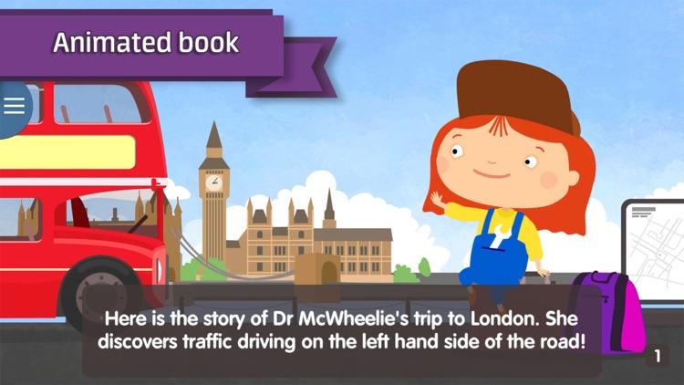 Doctor McWheelie: London screenshot-0