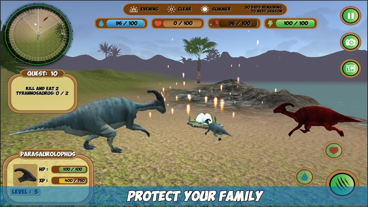 Parasaurolophus Simulator screenshot-1