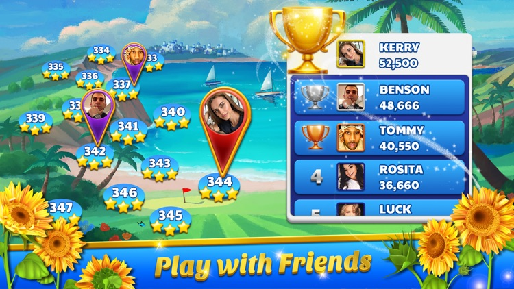 Golf Solitaire Tournament screenshot-3