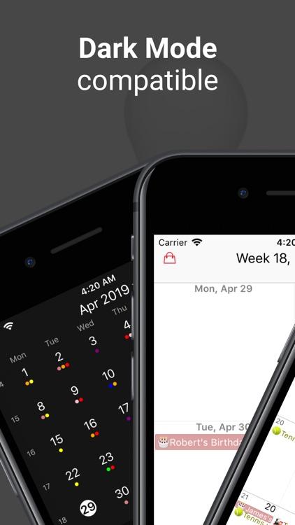WeekCal - Fully Unlocked screenshot-3