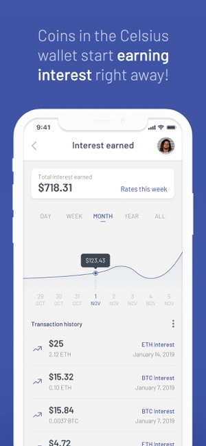 Celsius Network: Crypto Wallet on the App Store