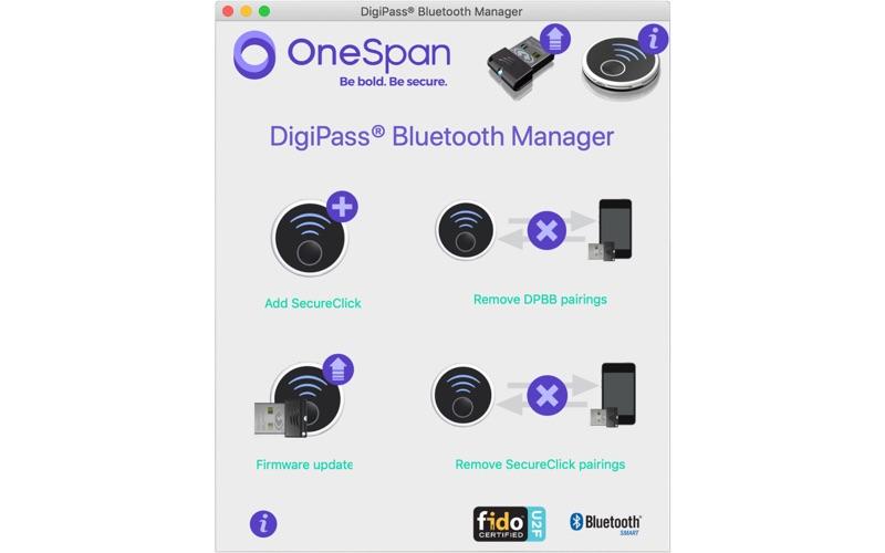 Digipass Bluetooth Manager for Mac