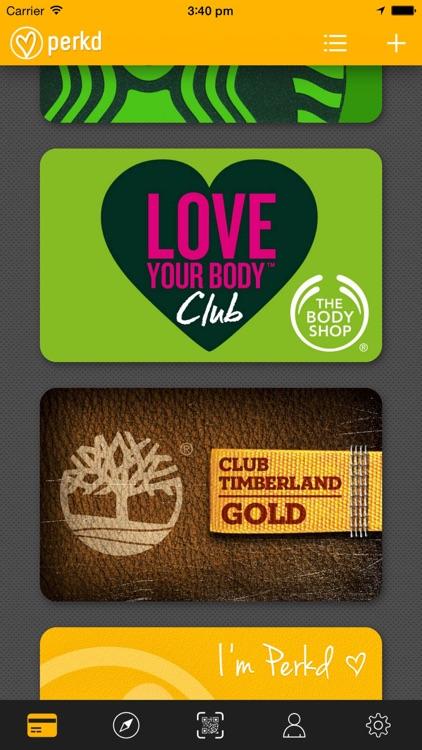 Perkd - Loyalty & Reward Cards