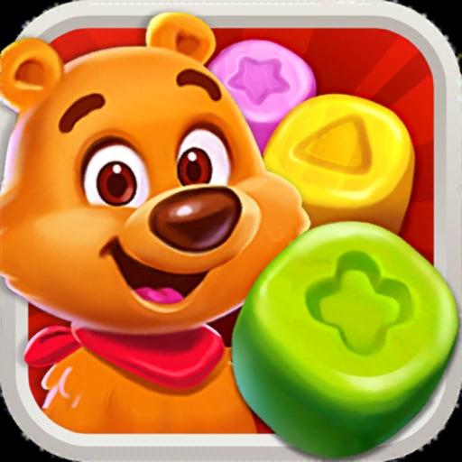 Toy Party: Match 3 Hexa Blast! iOS App