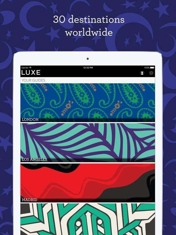 LUXE City Guides screenshot