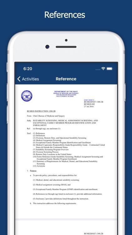 Navy BMR screenshot-3