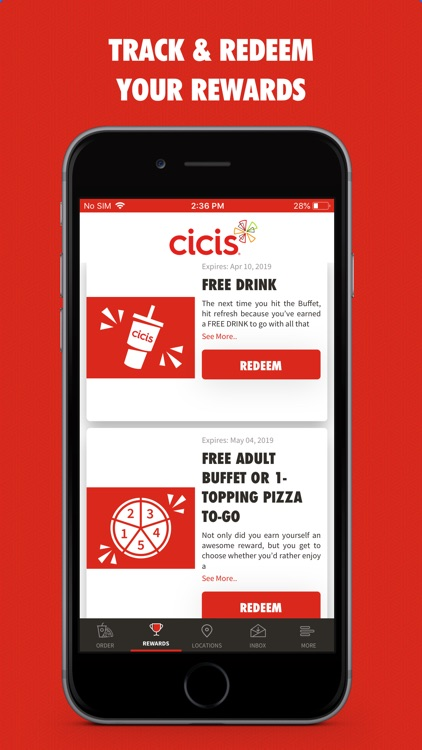 MyCicis screenshot-2