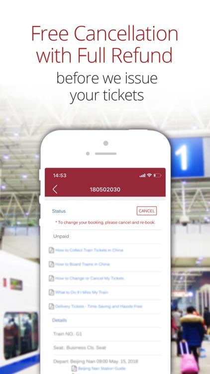 China Train Booking screenshot-6
