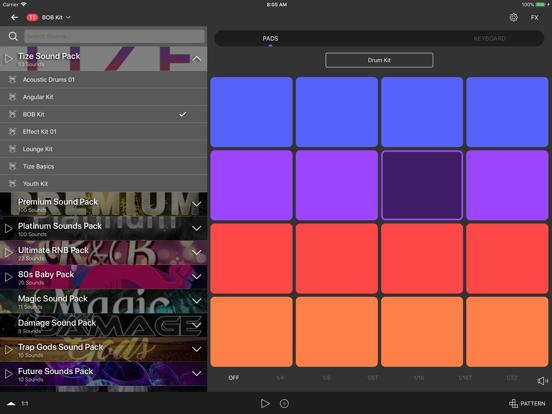 TIZE - Beat Maker, Music Maker screenshot