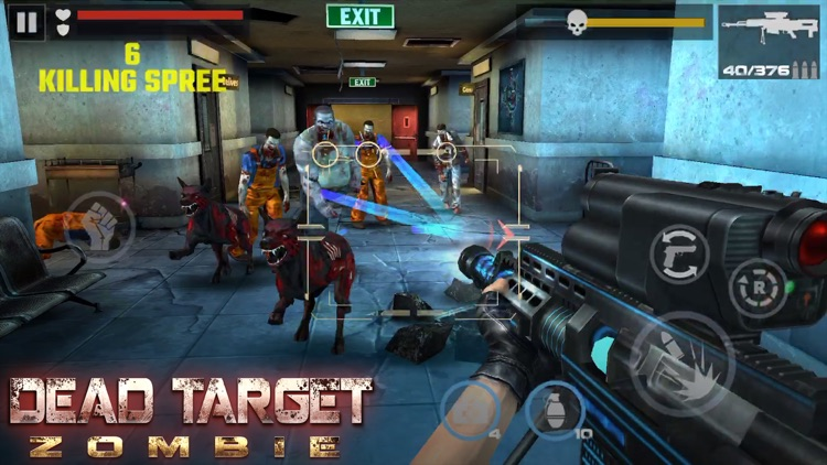 DEAD TARGET - Zombie Shooting screenshot-4