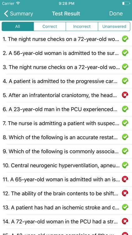 PCCN Exam Prep - 2017 Edition screenshot-4