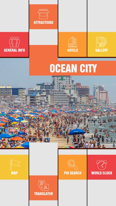 Ocean City Tourism Guide screenshot two
