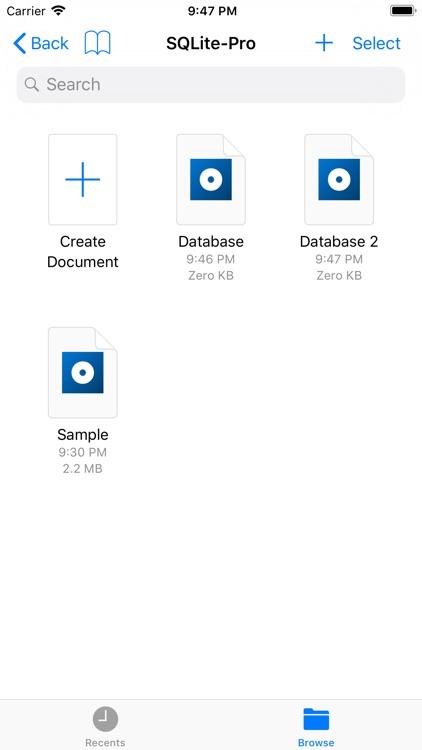 SQLite-Pro screenshot-4