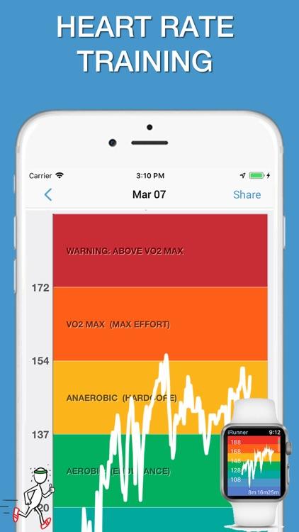 iWalker Tracker + Heart Rate screenshot-3