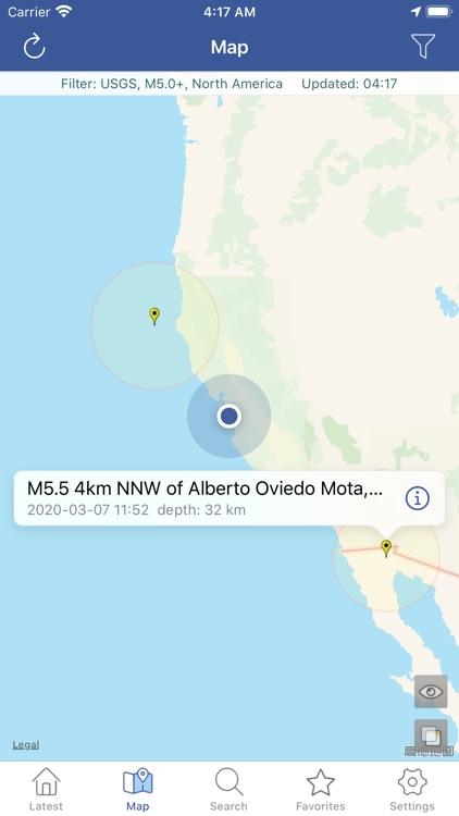 Earthquakes Pro screenshot-4