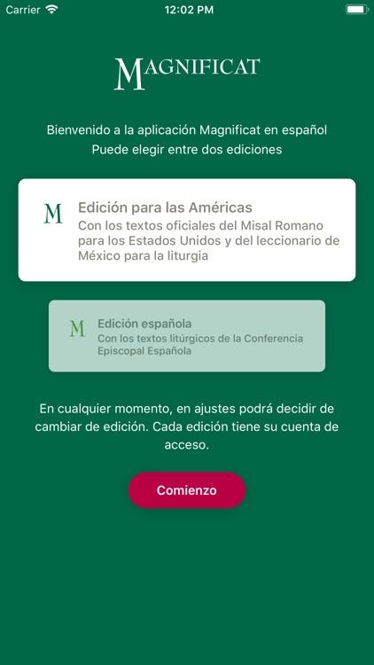 MAGNIFICAT en español