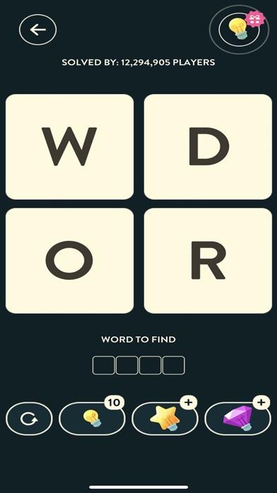WordBrain Screenshot on iOS