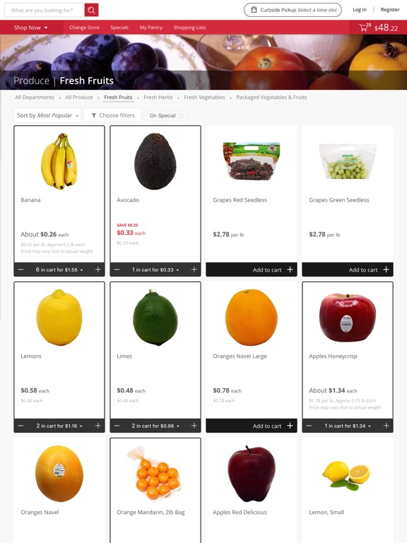 goGroceri screenshot 7
