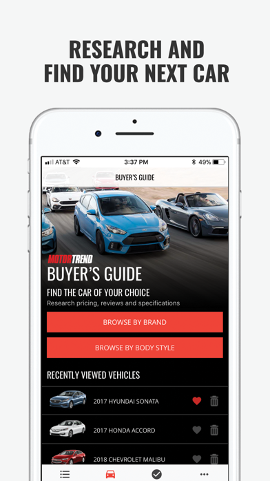 MOTOR TREND Buyer's Guide screenshot 1