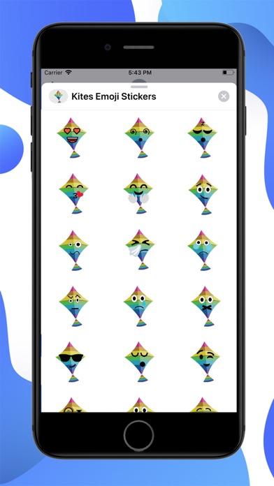 Kites Emoji screenshot 1