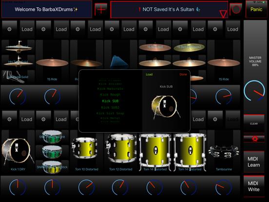 BarbaXDrums screenshot 12