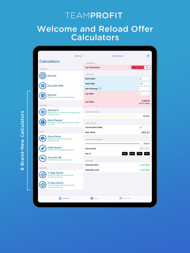 Matched betting calculator iphone 6 worlds sport betting