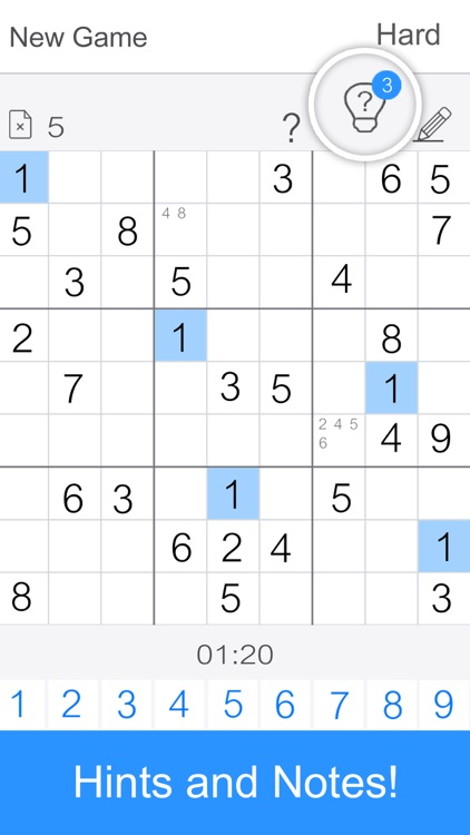 Sudoku - Classic Sudoku Games screenshot-2