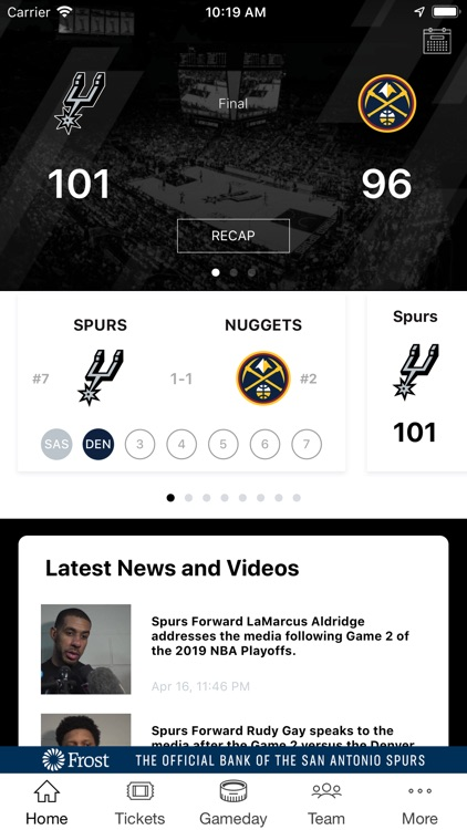 San Antonio Spurs screenshot-0