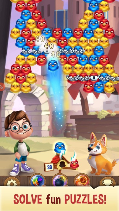 Bubble Birds V - Shooter screenshot 1