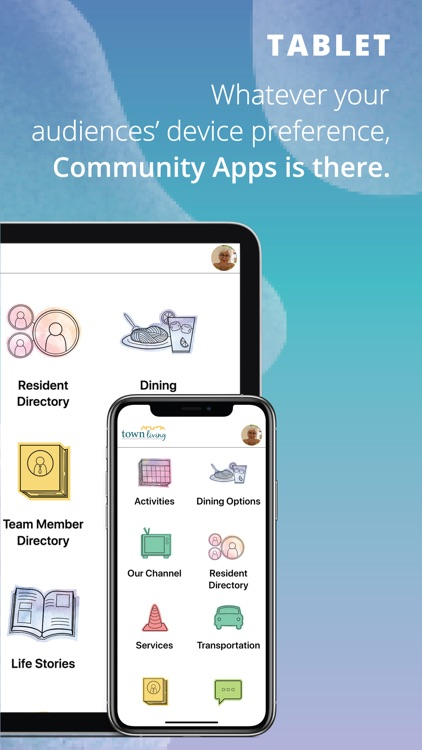 Touchtown Community Apps