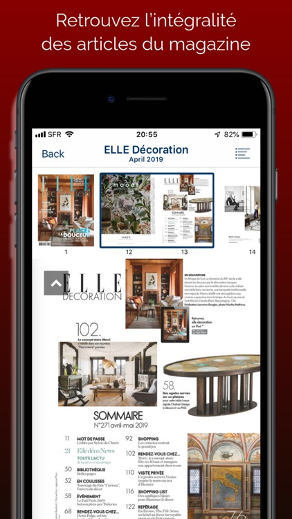ELLE Décoration Magazine screenshot-2