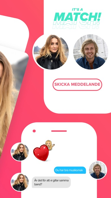 Screenshot for Tinder in Sweden App Store
