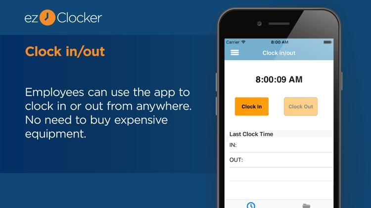 ezClocker: Employee Time Track screenshot-0