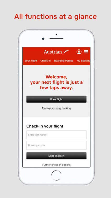 Austrian Airlines screenshot-1