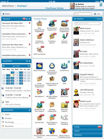 Screenshot of FirstClass GO