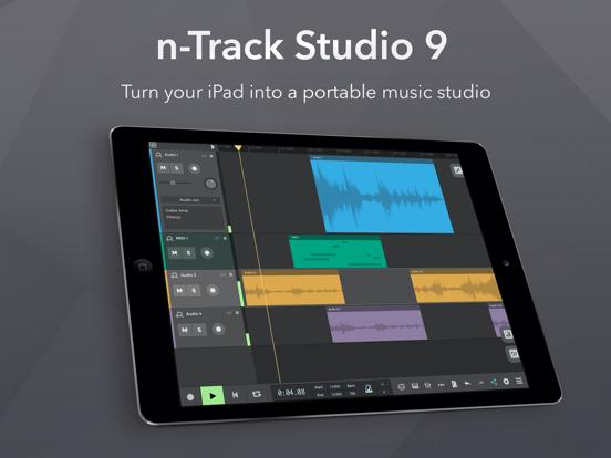n-Track Studio DAW 9 screenshot