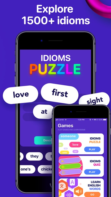 English idioms,vocabulary game screenshot-4