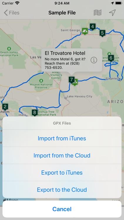 Road Trip Planner Viewer screenshot-9