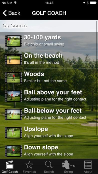 Golf Coach By Dr Noel Rousseau review screenshots