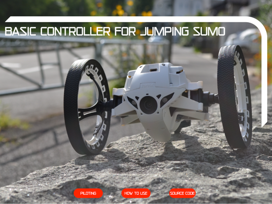 Basic Controller Jumping Sumo screenshot 11