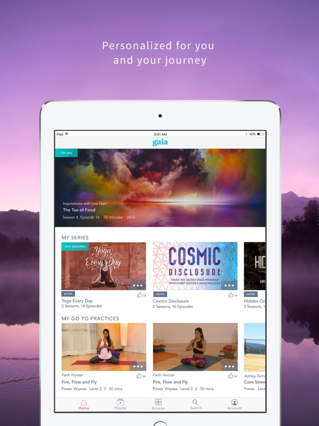 Gaia TV Discover Mindful Yoga on the App Store