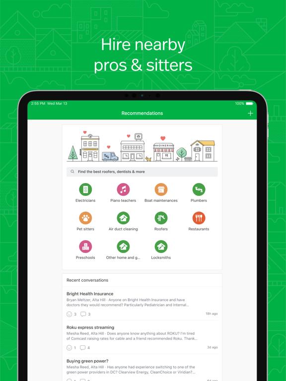 Nextdoor - Neighborhood News, Classifieds, Crime Watch, Local Events, and More screenshot