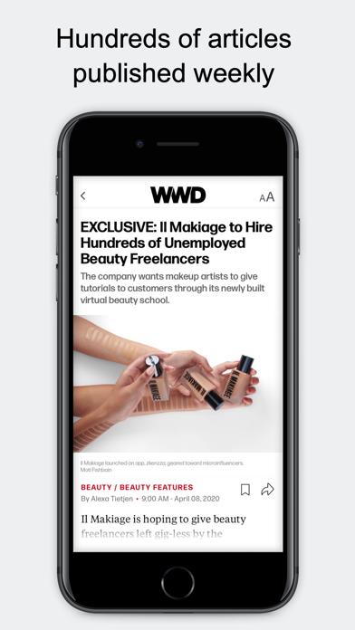 WWD: Women's Wear Daily screenshot1