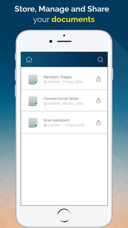 Scanner App - Scan PDF Doc screenshot-3