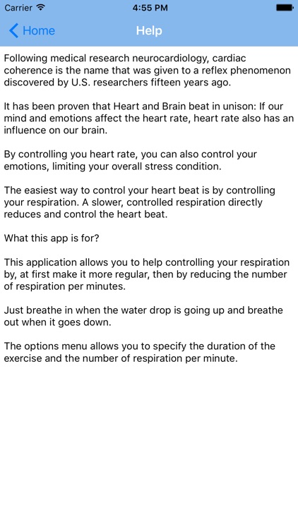 Cardiac Coherence Mindfulness screenshot-4