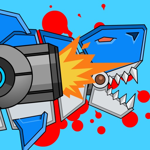 Robot Gun Shark Double Attack