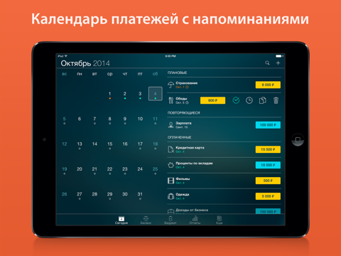 Скриншот из Money Pro: Personal Finance