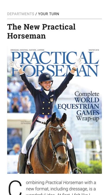 Practical Horseman Magazine HD