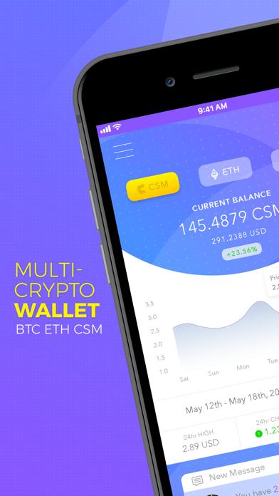 Consentium - Chat & Crypto Cur - 窓用
