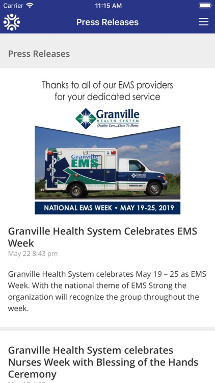 GranvilleOne-Granville Health